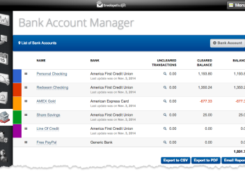 Bank Account Manager